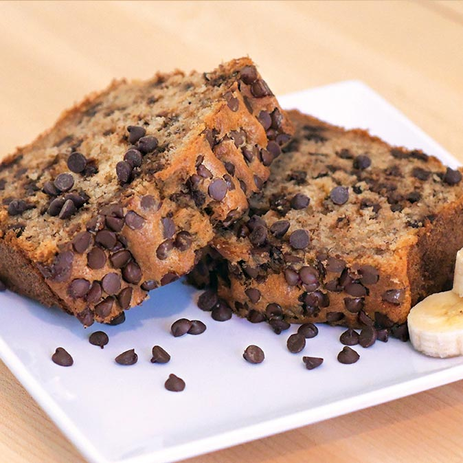 Cafe De Oro Banana Chocolate Chip Bread