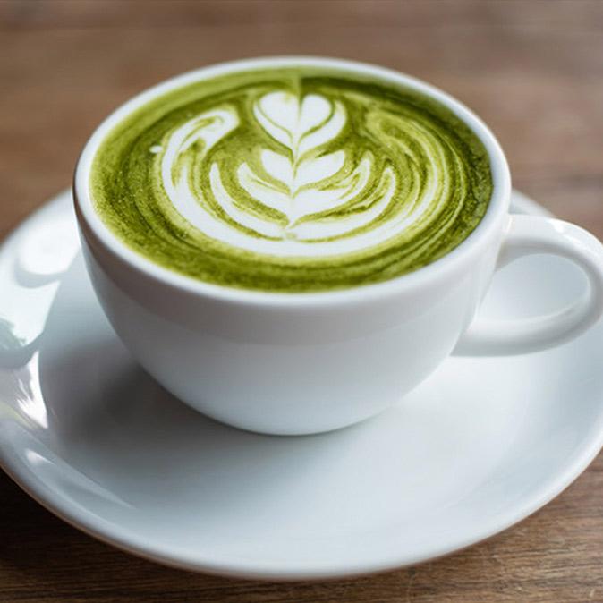 Cafe De Oro Matcha Latte