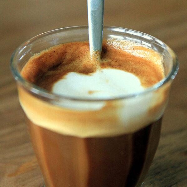 Cafe De Oro Cortado