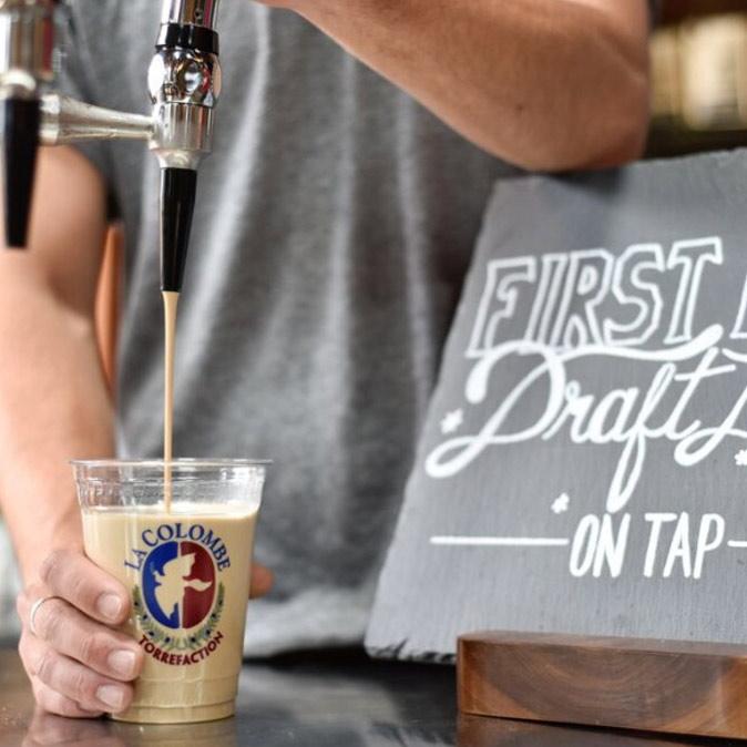 Cafe De Oro Draft Latte